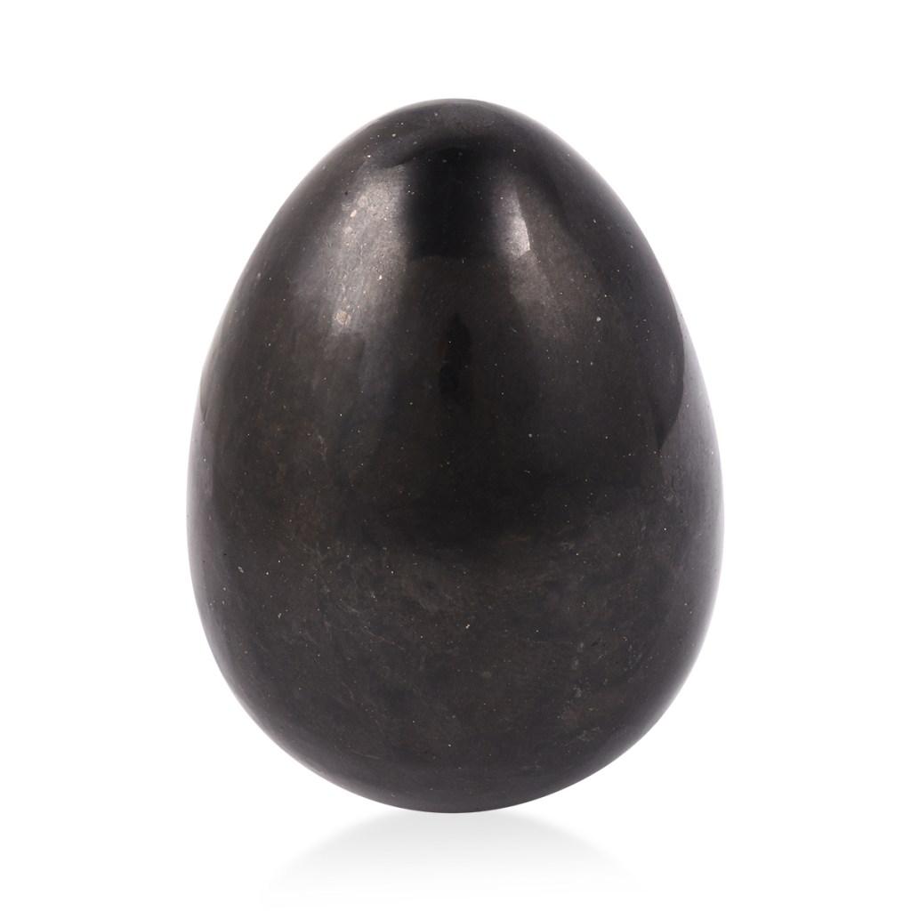 Shungite egg.