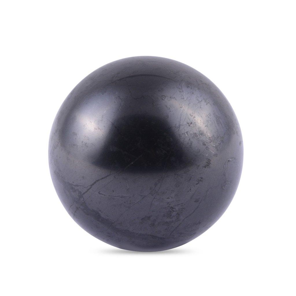 Shungite sphere.