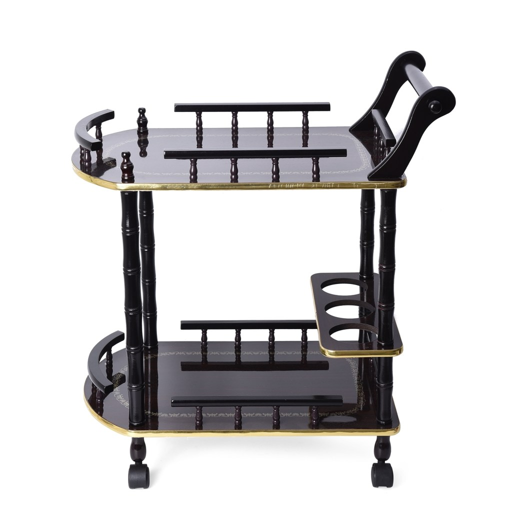 Bar trolley set.