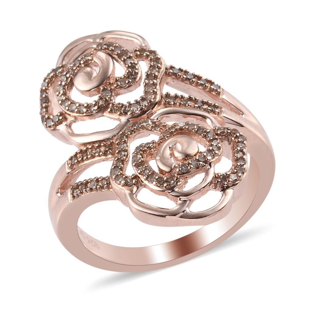 Giuseppe Perez rose ring.