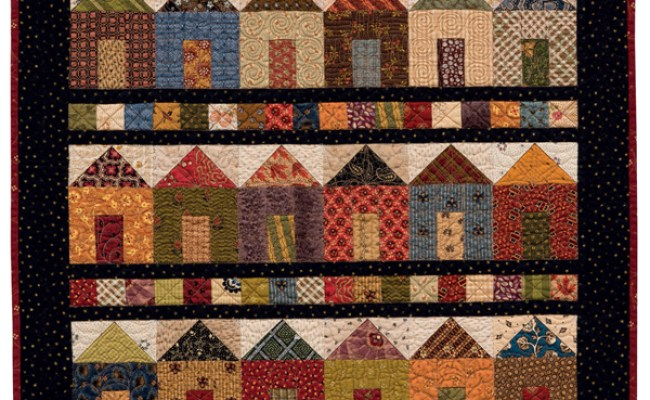 A House Quilt Block Pattern For Every Home Must See Sew