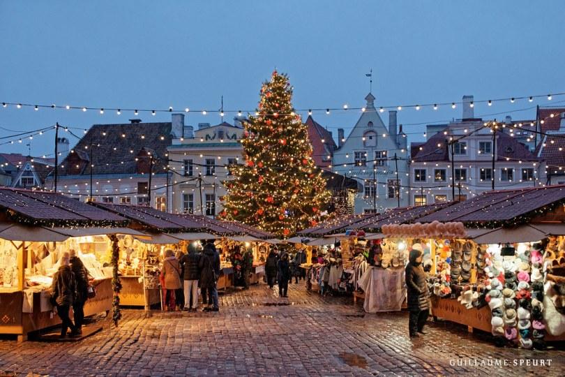 Mercado navideño Tallin