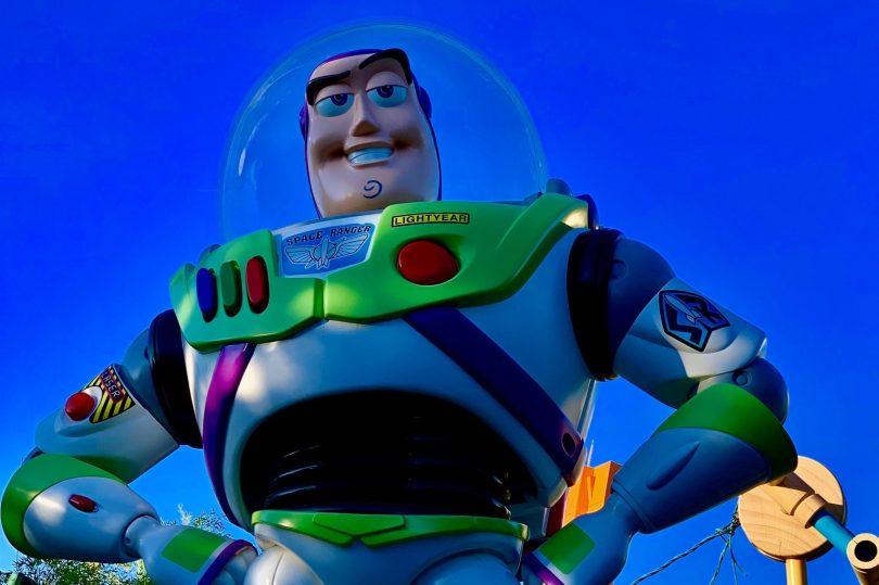 Estatua Buzz Lightyear, disfraz Carnaval 2020