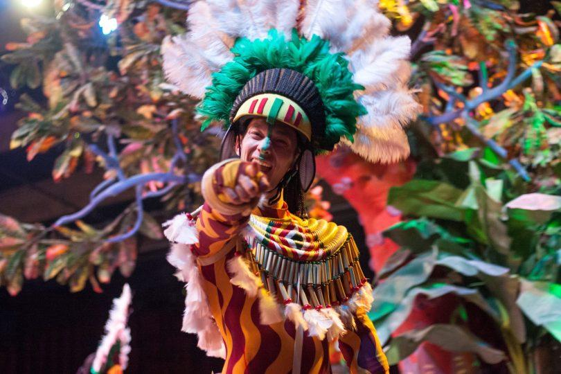Carnaval 2020, disfraz indio