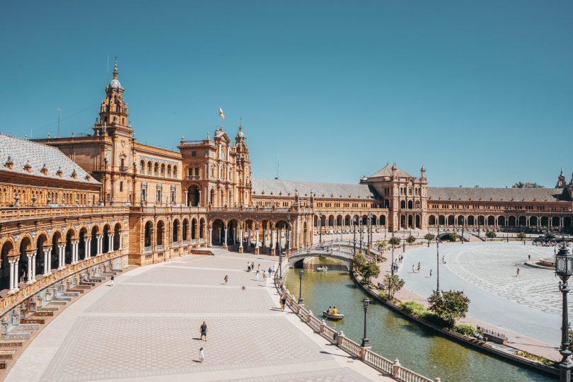 Vacaciones en Semana Santa, Plaza de España - Sevilla