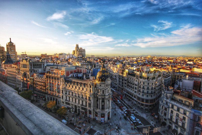 Edificio Metropoli, Gran Vía de Madrid.
