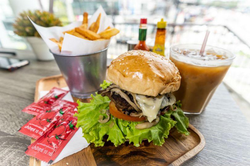 hamburguesa comida made in usa shoppiday