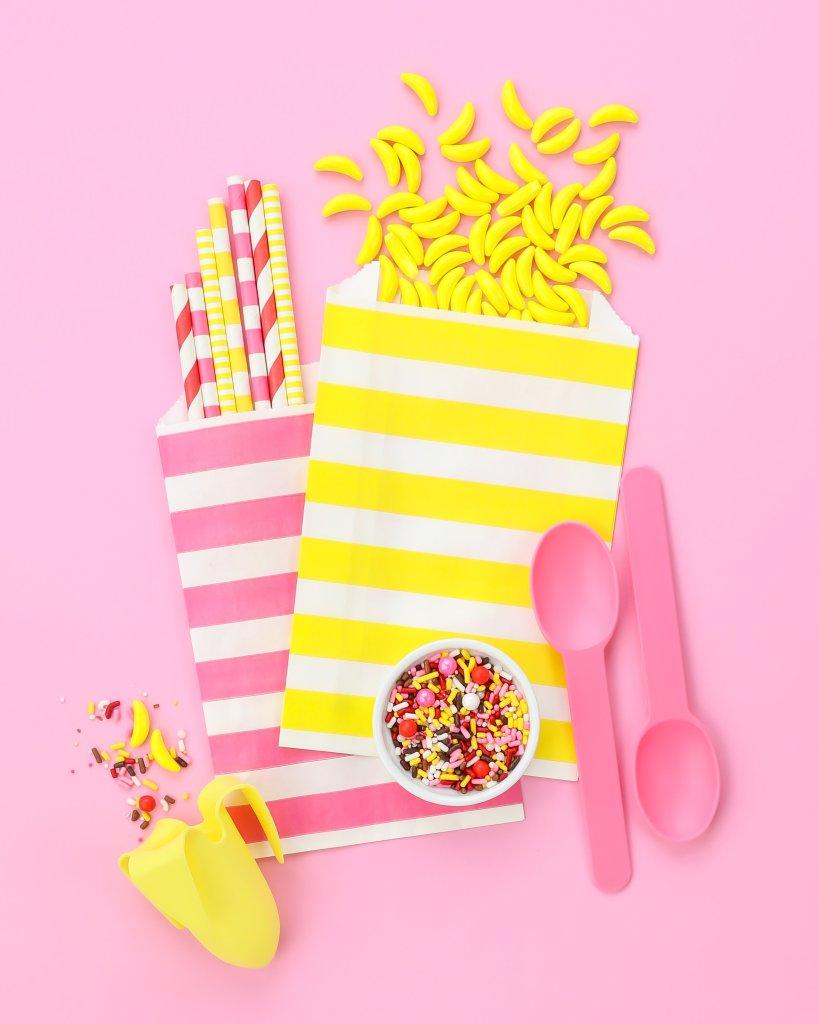Banana Split Sprinkles Party Board   Sweets & Treats