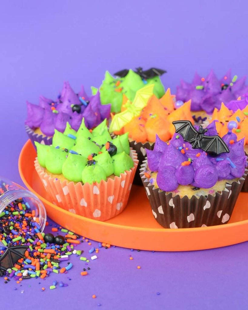 Batty Bakery Kids Halloween Party Ideas Cupcakes