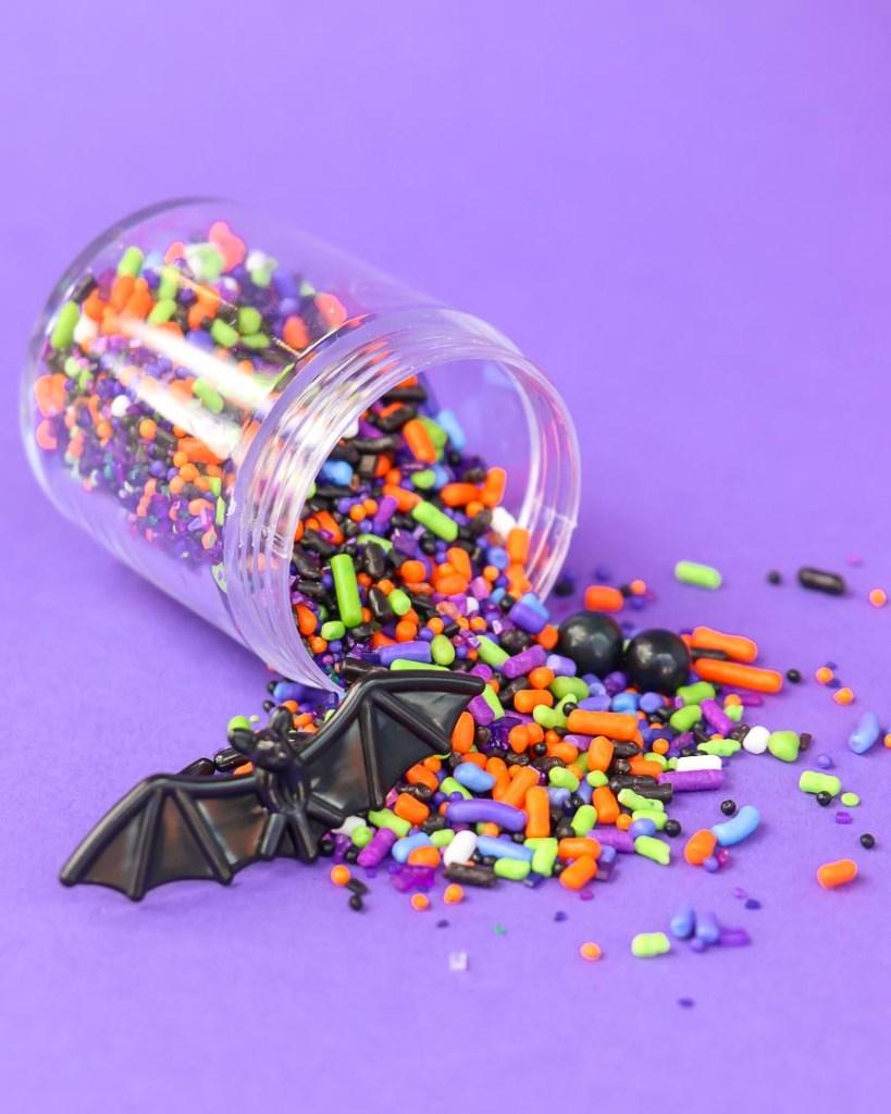 Batty Bakery Kids Halloween Party Ideas - Halloween Sprinkles Monster Mash