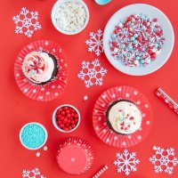 Winter Wonderland Party Ideas With Frost Bite Sprinkle Mix!
