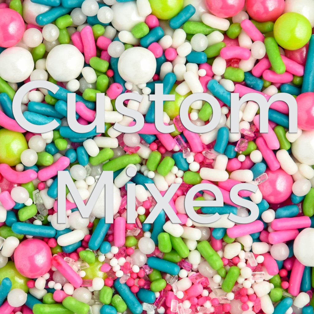 custom sprinkles mixes photo