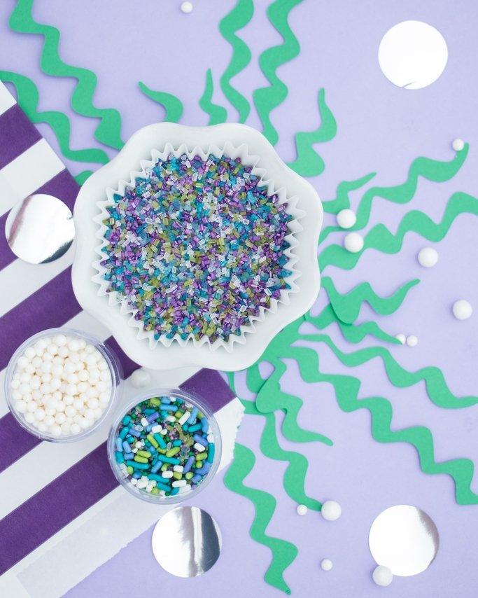 Mermaid party sprinkles.