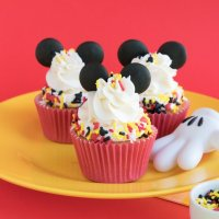 Mickey Mouse Cupcakes Tutorial with Ears!