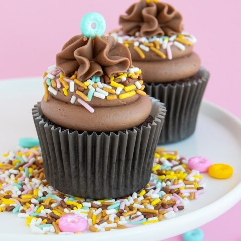 Mocha Cupcakes With Mocha Frosting