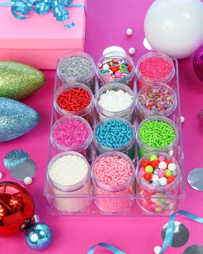 Merry & Bright Christmas Sprinkles Mix Kit