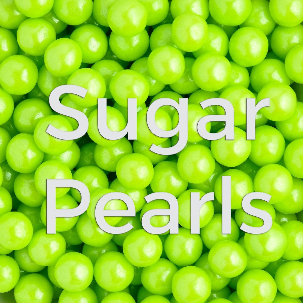 lime sugar pearls sprinkles photo