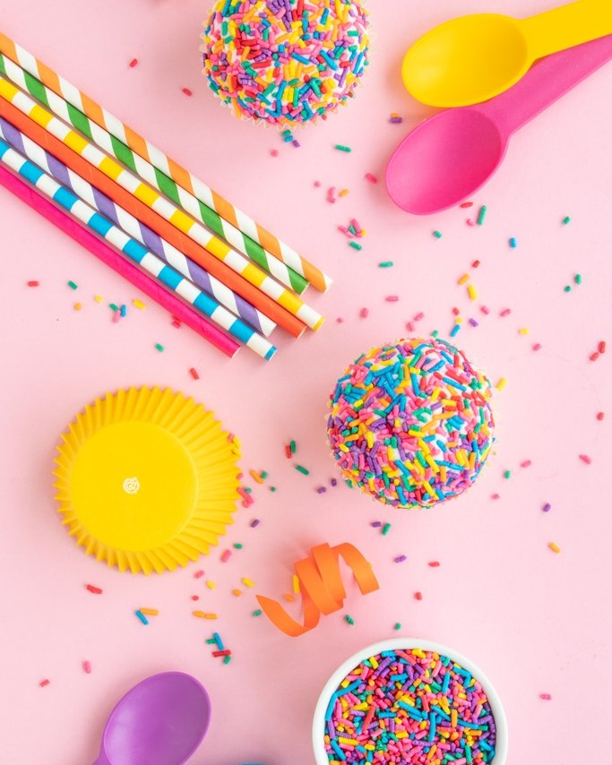 Rainbow baking supplies and party supplies for your upcoming rainbow party