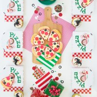Pizza Party Ideas - Sweetscape InstaParty