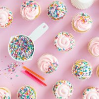 How Many Sprinkles Do I Need To Cover Sprinkle Cupcakes?