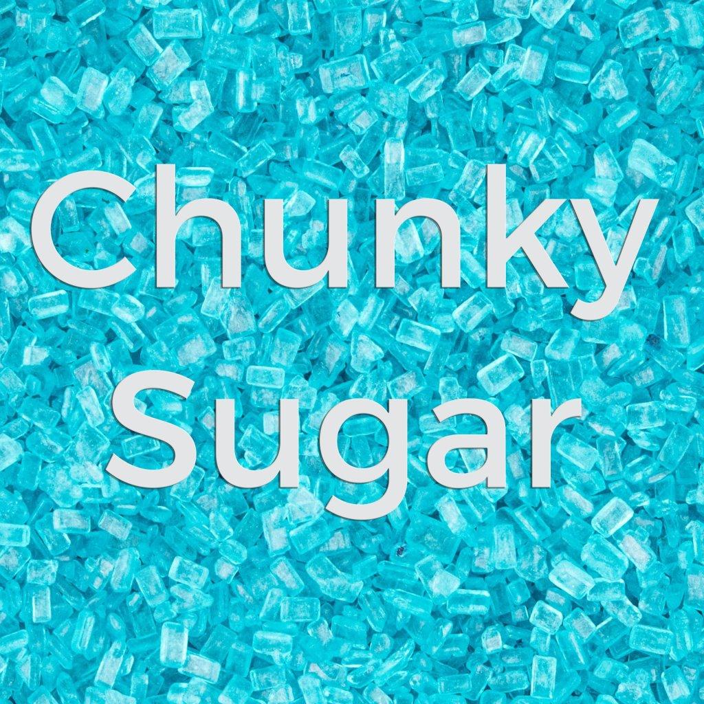 Teal Chunky Sugar