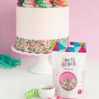Covering a Sprinkle Cake - How Many Sprinkles Do I Need?