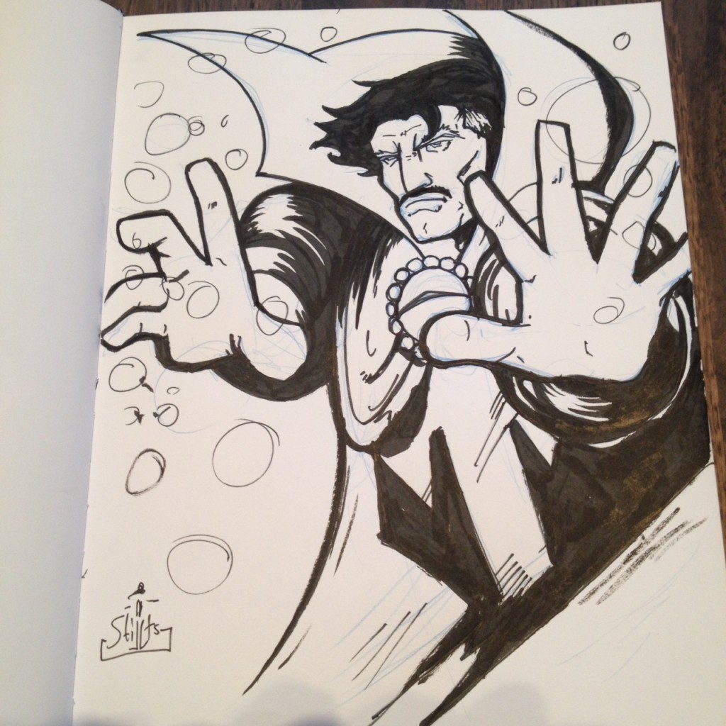 Doctor Strange commission by Matt Harding. Follow him on Twitter @Stilltsinc.