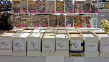 "Image result for comic book dollar bin"""