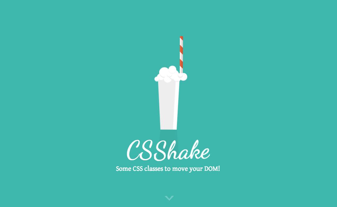 CSS_Shake_トップ画面