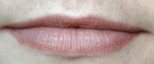 Outlined Nude Lips