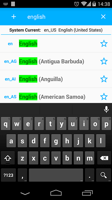 Search by Language Label