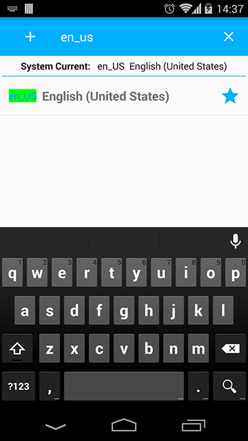 Search by Language Code + Country Code (Like: en_US)