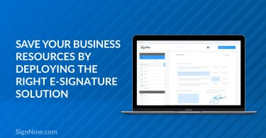 e-signature deployment