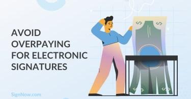 electronic signatures