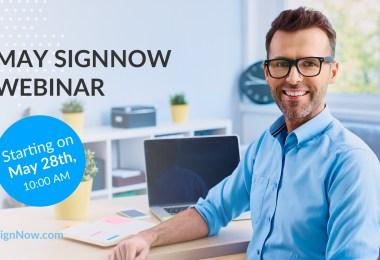 May SignNow webinar