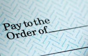 Pay To the order of,,,