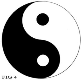 Yin-Yang Negative/Positive Space