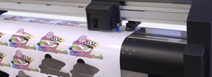 Fig 4: Advanced Cutters like the Q series and FC8600 machines can produce pop-out decals