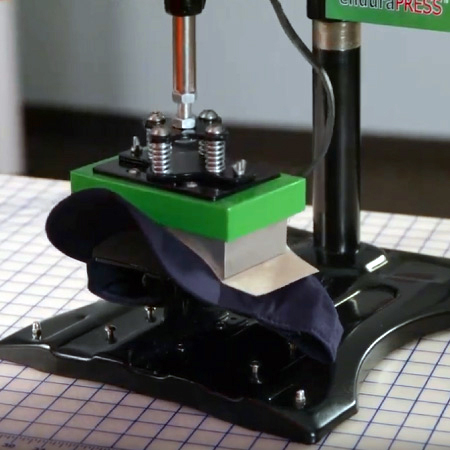 A common cap heat press.
