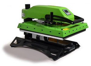 The EnduraPRESS SD20 can handle anything from laser transfers to Spirit Jerseys