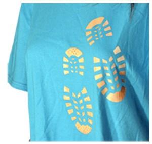 Logical Color WarmPEEL CP printable t-shirt vinyl on a cotton shirt