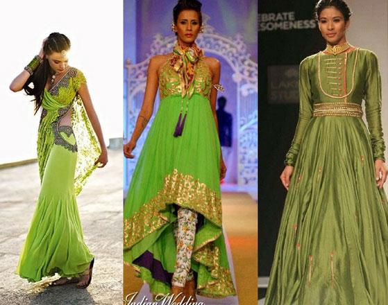 Greenery-in-Indian-Fashion-11
