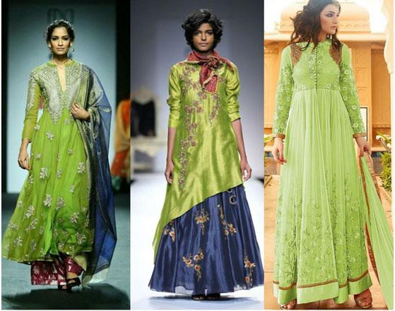 Greenery-in-Indian-Fashion-8