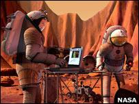 NASA imagem sintética