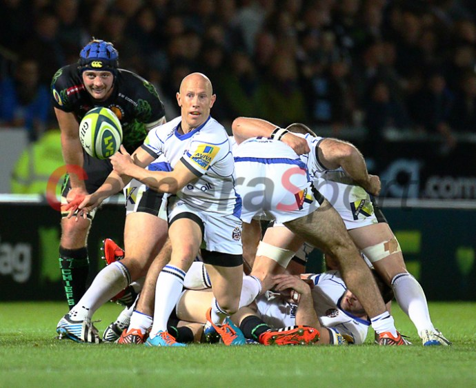 Rugby Union - LV= Cup Round 2 - Exeter Chiefs v Bath - Saturday 8th November 2014 - Sandy Park - Exeter