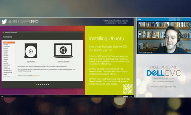 Installing Ubuntu.