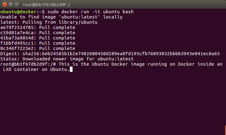 How to run Docker in a LXD container – Mi blog lah!