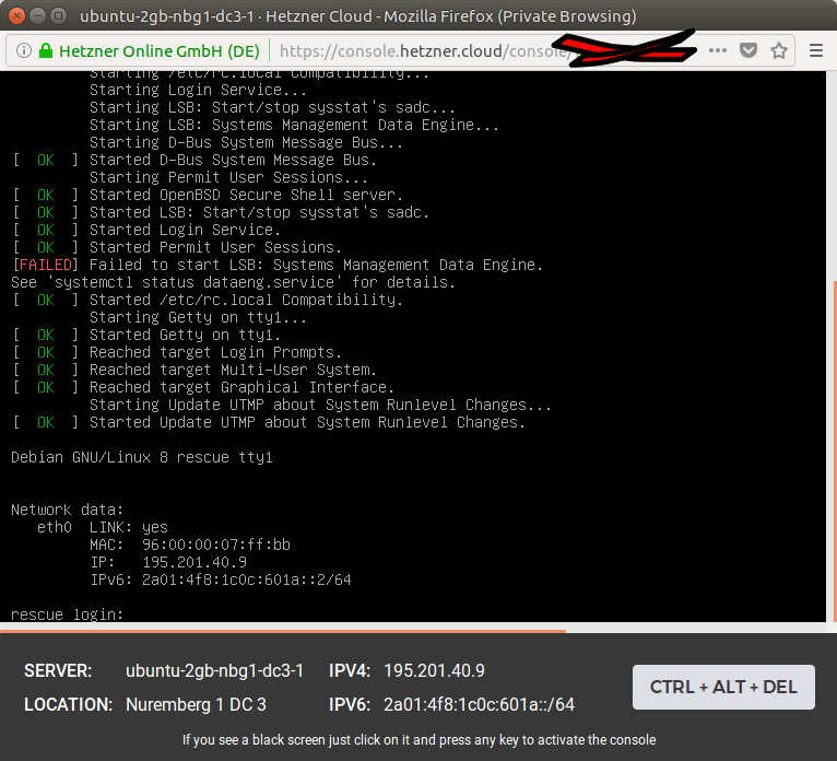 How to repartition a Hetzner VPS disk for ZFS on its own