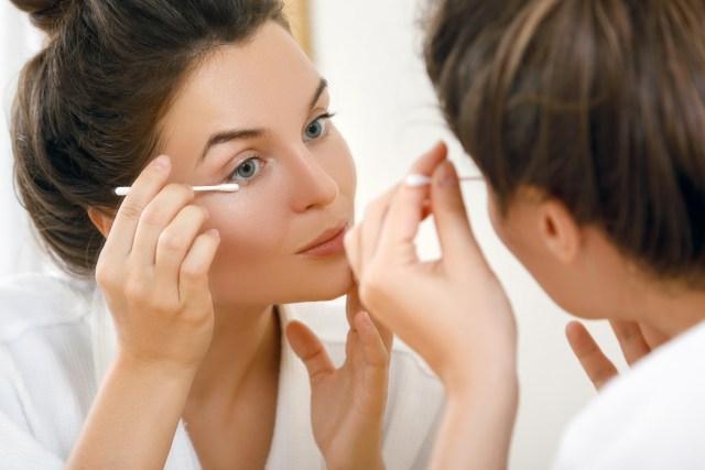 oog hygiëne blefaritis