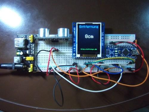 small resolution of the hc sr04 ultrasonic distance sensor and an arduino
